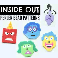 Bead Patterns Enchanting Inside Out Perler Bead Patterns I Can Teach My Child