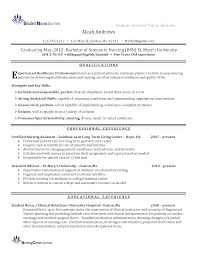 Resume For Nurses Gpa On Resume Nursing Therpgmovie 28
