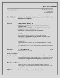 Free Download 49 Free Resume Template For Word New Free Resume