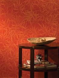 metallic paint for wallsLiving Room Wall painted with Modern Masters Sashay Red metallic