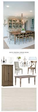 rustic hutch dining room: copy cat chic room redo rustic neutral dining room