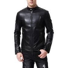 mens leather jackets fall winter coat men faux coats biker motorcycle male classic jacket top quality plus size m 5xl j181133 men motorcyle jackets plus