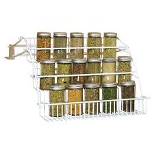 Rubbermaid Coated Wire In Cabinet Spice Rack Beauteous Rubbermaid FG32RDWHT Spice Rack Walmart