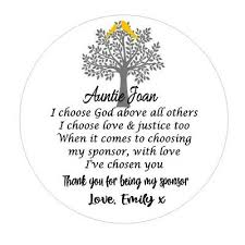 personalised thank you for being my