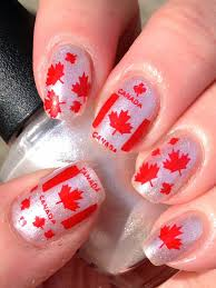 Canada Day Gel Nail Designs Canadian Nail Fanatic Canada Day Nails Orchid Nails