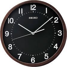 Деревянные <b>настенные часы Seiko QXA643Z</b> — купить в ...
