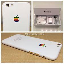 iphone 6 white. custom iphone 6 - 16gb (unlocked) 24k matte white retro verizon straight talk iphone