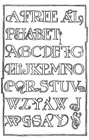 Printable Letter Templates Fancy Letter Stencils To Print Free Printable Alphabet Letter