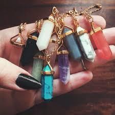 jewels necklace jewl rocks jewelry crystal quartz ebonylace net ebonylacefashion point necklace gemstone