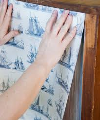 how to wallpaper furniture. good instrucitons on how to use wallpaper modpodge an old piece of furniture poppytalk i