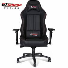 office leather chair. GT Omega EVO XL Racing Office Chair Black Leather Office Leather Chair