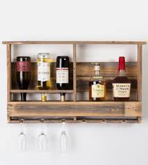 Reclaimed Wood Wine Cabinet Reclaimed Barn Wood Wine Rack Features Reclaimed Wood Del