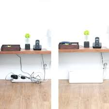 office cable management. Captivating Computer Desk For Home Office W Cable Organizer Management T