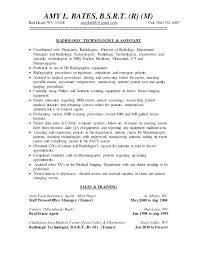 Resume Format For A Job Delectable Mri Technologist Resume Examples X Ray Job Description Bunch Ideas