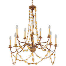 flambeau mosaic light antique gold candle chandelier