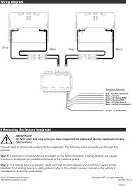 he0780d dual dvd headrest replacement system user manual av7500 page 4 of he0780d dual dvd headrest replacement system user manual av7500 installation manual rev a