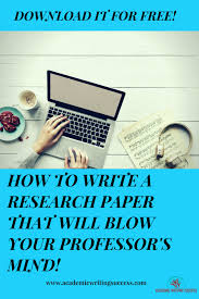 Research Paper Write Ultimate Free Guide How To Write A Research Paper