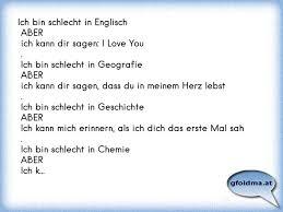 Ich Bin Schlecht In Englisch Aber Ich Kann Dir Sagen I Love You