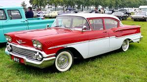 Chevrolet Delray 4 door Sedan '1958 - YouTube