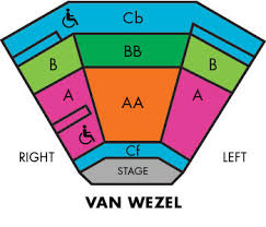 Printable Van Wezel Seating Chart 24 Efficient Van Wezel Seating Chart Detail