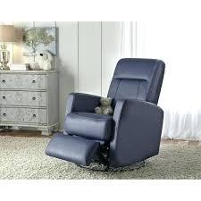 leather glider recliner with ottoman true innovations white simon li joel top grain baby nursery best