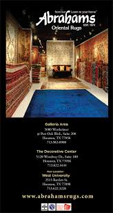 abrahams oriental rugs