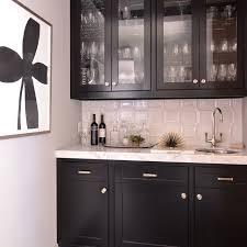 black glass front butler pantry cabinets transitional kitchen with black kitchen pantry cabinet regarding cur property