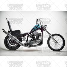 harley davidson sportster 1982 2003 hardtail frame mk55