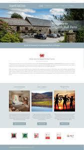 Web Design Mid Wales Gogarth Hall Farm Holidays Pixel Yeti Media