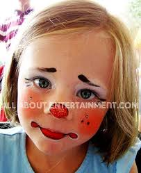makeup cute child s face painting baby s first cute little clown face painting schminken clown face