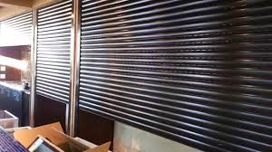 Motorized Roll Down Security Shutters Exterior Bar Shuters YouTube - Exterior shutters dallas