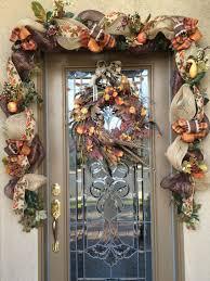 R Fall Front Door Garland