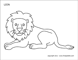Find all the coloring pages you want organized by topic and lots of other kids crafts and kids activities at allkidsnetwork.com. Lion Free Printable Templates Coloring Pages Firstpalette Com