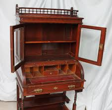 a very practical desk that will fit anywhere only measuring 29 1 2 wide 19 depth and 61 height circa 1880