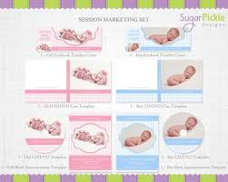 Cd Baby Templates Marketing Templates Birth Announcement Template Cd Template Facebook Template Label Gingham Set