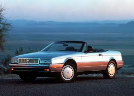 cadillac sport car from the 80s