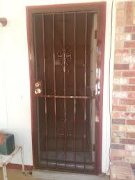 perforated metal screen door. Door Colors Included Are: Black, White Or Brown. Comes Standard With A Perforated Metal Screen. Screen E