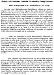 kofc council  a copy of the essay is posted below as well as on the archdiocese association s website