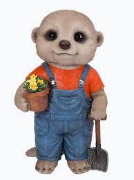 arts baby meerkat gardener size