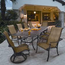 costco patio furniture dining sets. saratoga 11-piece sling patio dining collection costco furniture sets s