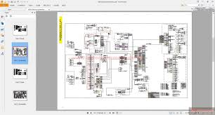 cat wheel loader h electric and hydraulic schematics auto