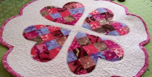 valentine table topper merry go round of hearts romance is in the air