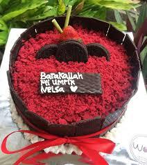 Wolucakepontianak Wolu Cake Pontianak Redvelvet Birthday