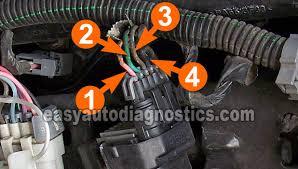 part 1 how to test the cop coils gm 4 8l 5 3l 6 0l 8 1l circuit descriptions of the c o p ignition coil connector