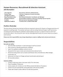 Job Task Template Awesome HR Assistant Job Description 48 Free Word PDF Documents Download