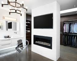fireplace bathroom saveemail bda  w h b p contemporary closet