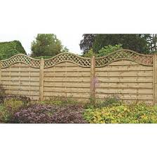 Trellis fence and trellis panels are ideal for providing a stable support to climbing plants whilst also adding colour and subtle privacy to your outdoor space. Forest Prague Lattice Curved Top Fence Panels 6 X 6 Pack Of 3 Lattice Fence Panels Screwfix Com