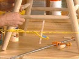 quick fixes for broken furniture diy
