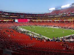 Fedex Field Landover Md Seating Chart Fedexfield View From Section 215 Vivid Seats