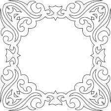 vintage frame design png. Decorative Vintage Frame Design Png